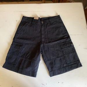 NWT Levi's Black cargo shorts SZ 34